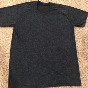 Men's Lululemon Metal Vent Tech SS shirt, navy, XL